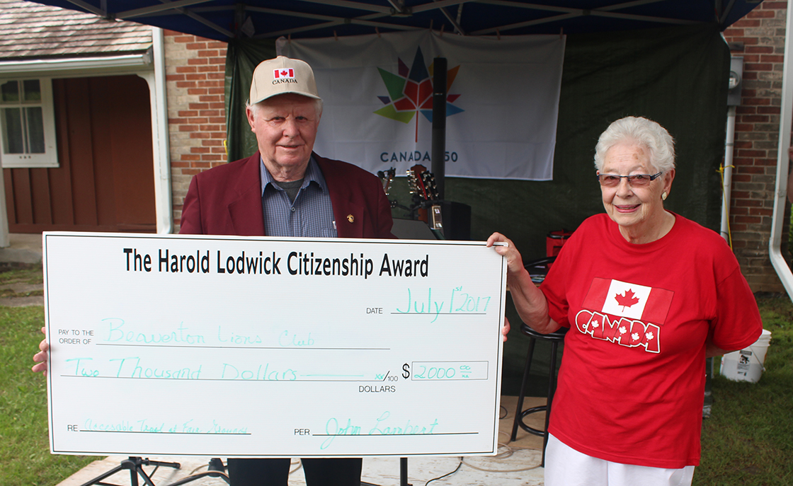 Nominations now open for Harold Lodwick Citizenship Award