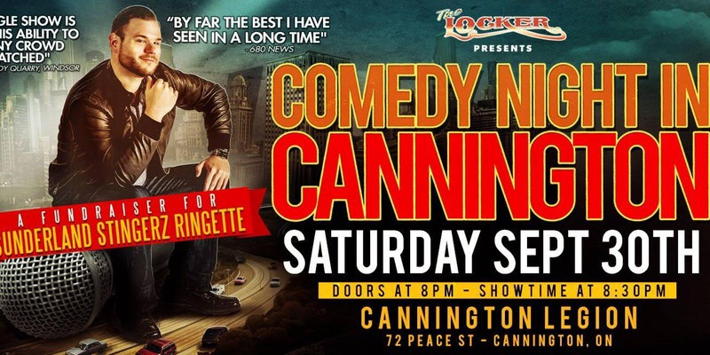 Comedy Night in Cannington in support of Sunderland Stingerz