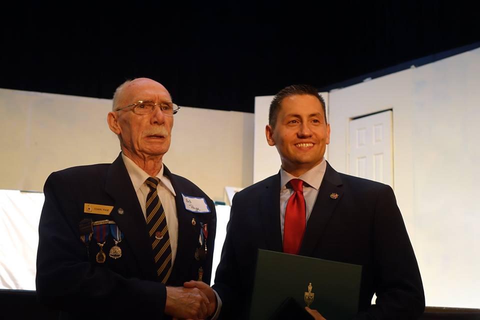 Brock volunteers recognized by MP Jamie Schmale