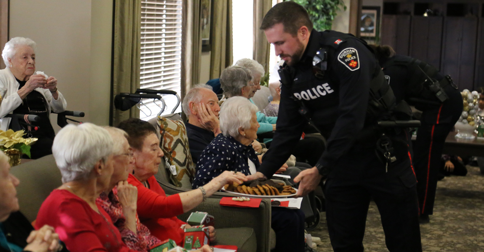 Durham Regional Police launching eighth annual Seniors' Christmas program