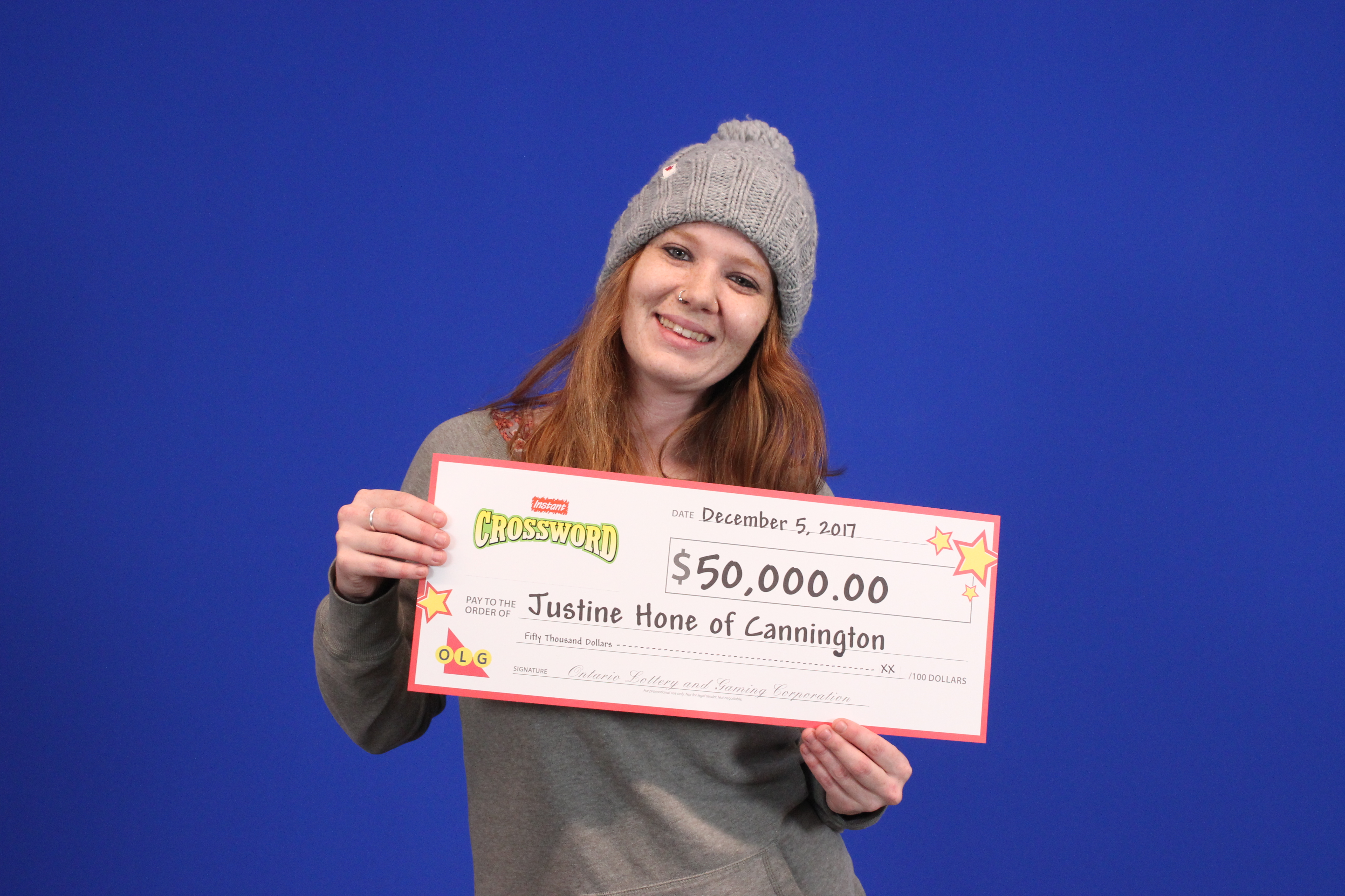 Cannington resident claims $50,000 lotto prize