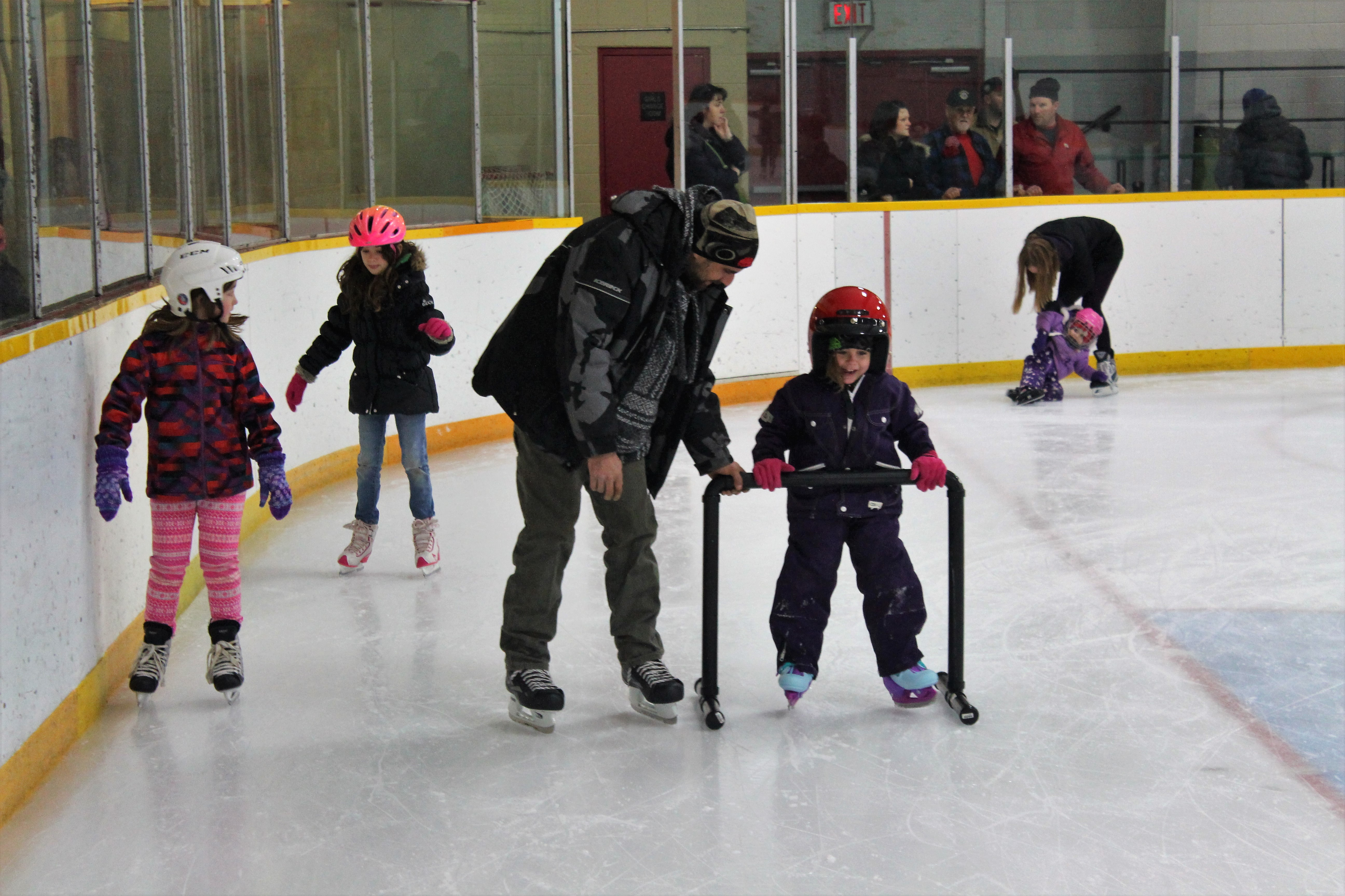 Hit the ice for free public skating at Brock arenas over March break