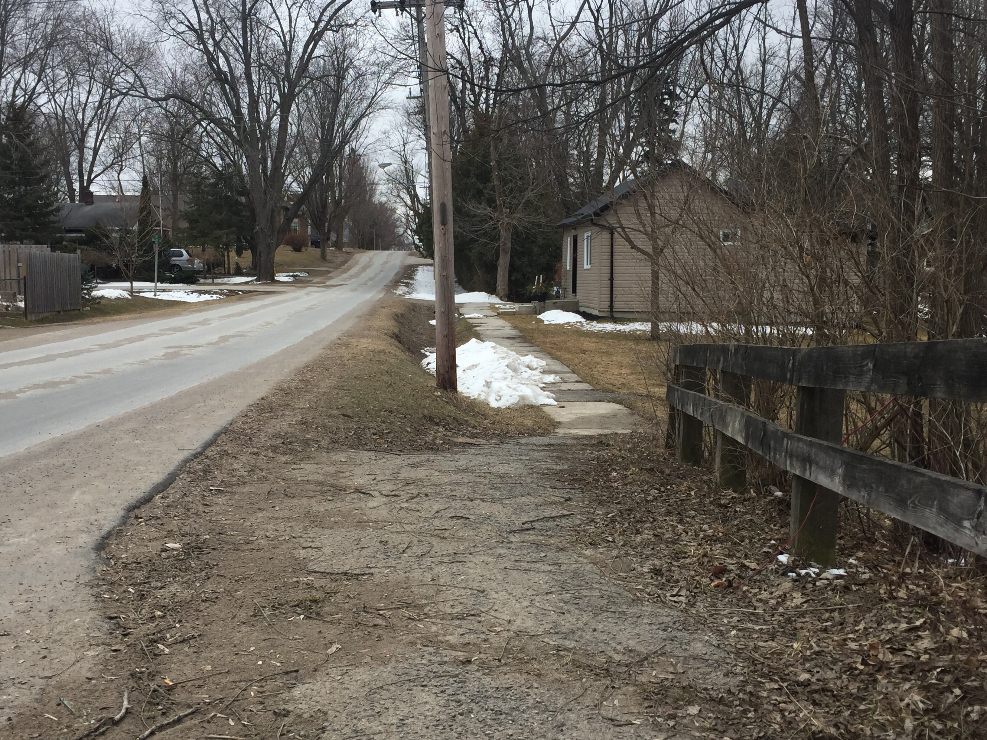 Accessibility Advisory Committee recognizes risks of removing sidewalks in Brock