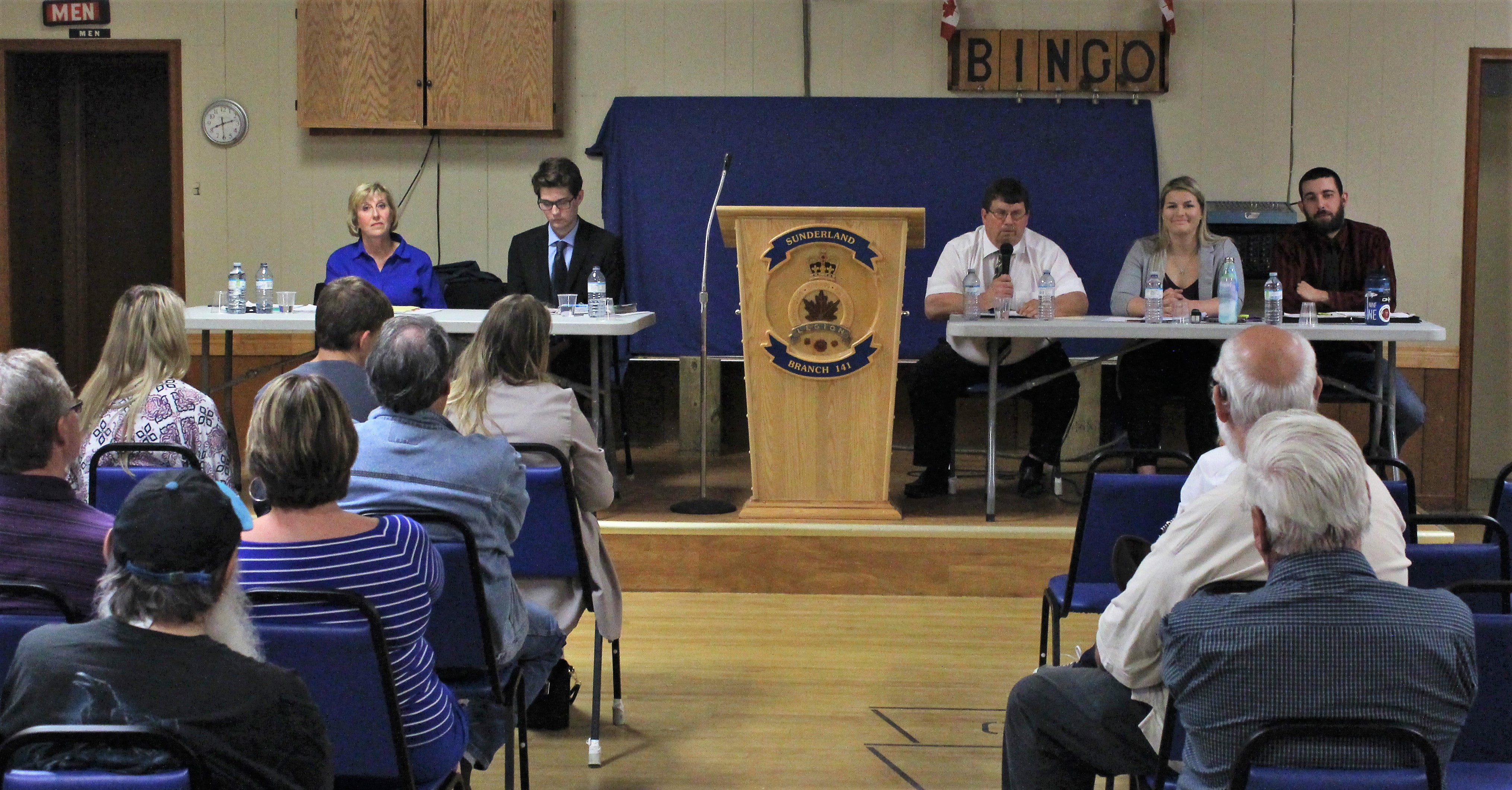 Provincial election candidates square off in Sunderland