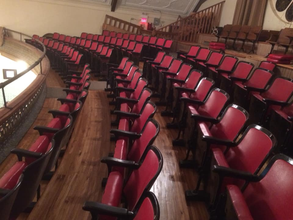 New balcony seats installed in Sunderland Town Hall