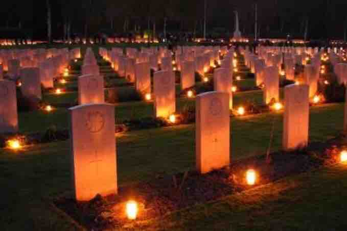 Beaverton student launches fundraiser to place candles at graves of Canadian soldiers