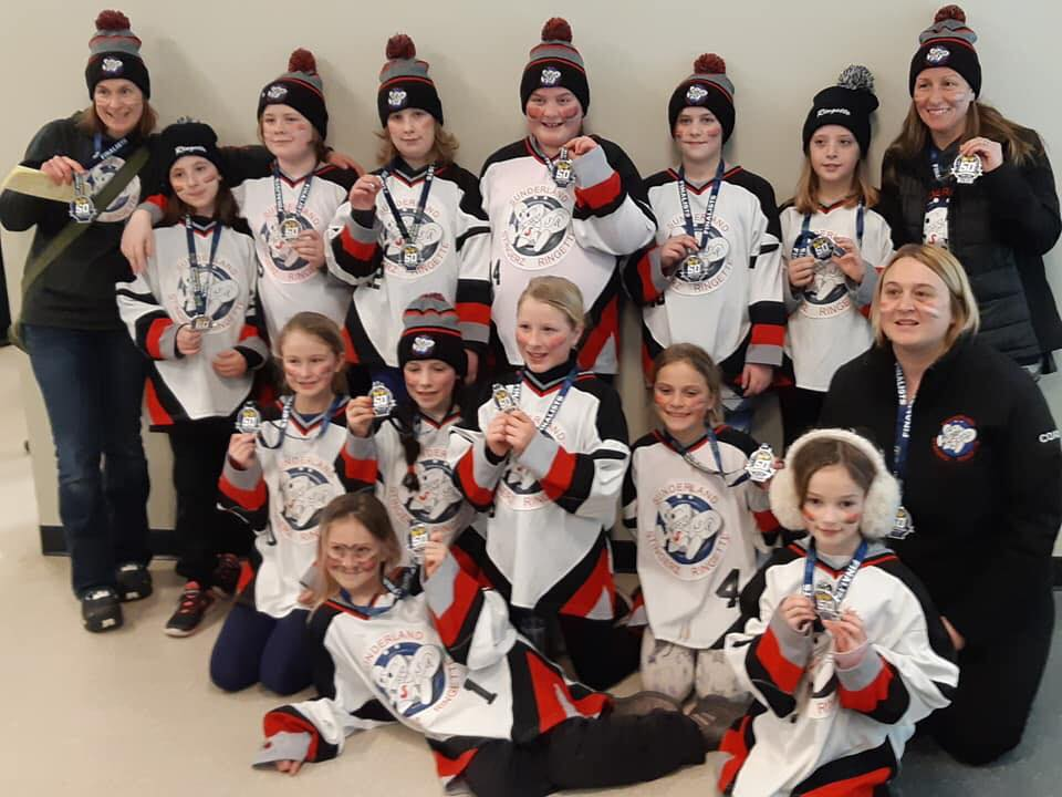 U10 Stingerz wrap up season with bronze medal in regional tournament
