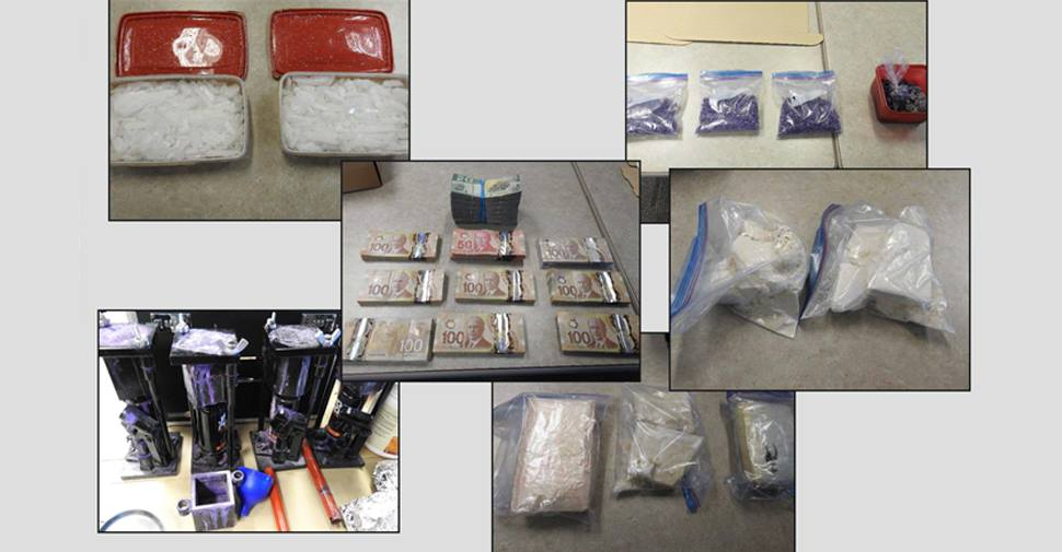 UPDATE: DRPS, RCMP investigation results in 21 arrests, $2.3 million worth of drugs and cash seized