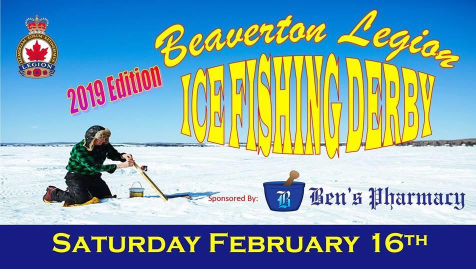 Beaverton Legion's ice fishing derby returns on Feb. 16