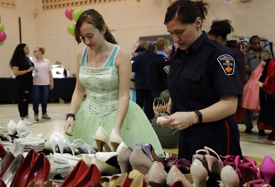 Brock CHC providing transportation to Gowns for Girls in Oshawa
