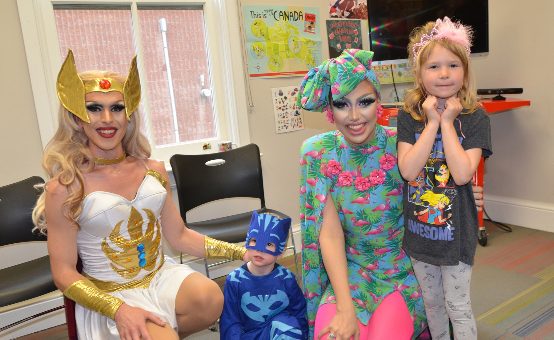 Drag Queen Storytime returns, virtually, to Brock Libraries
