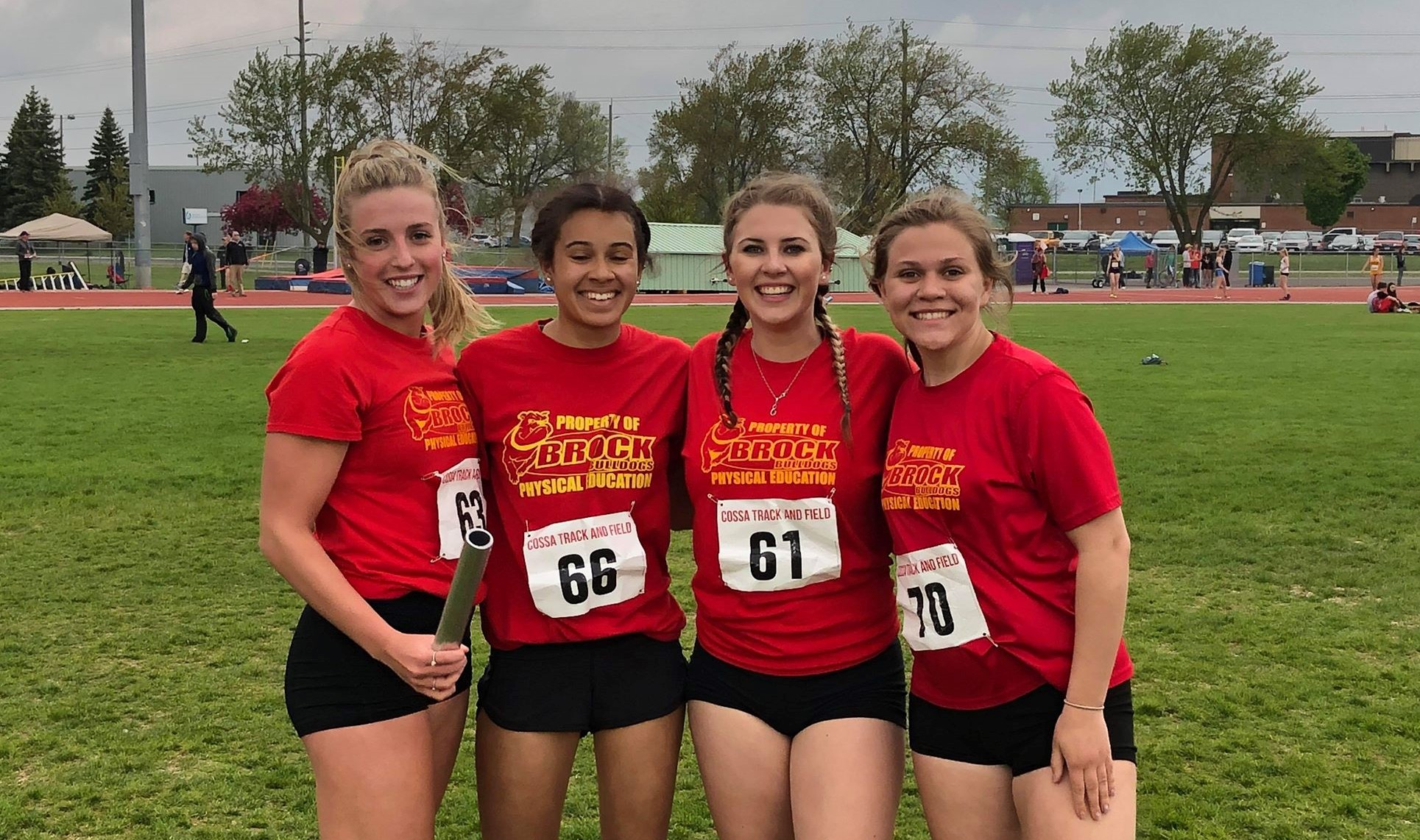 Brock High athletes shine at COSSA track and field meet