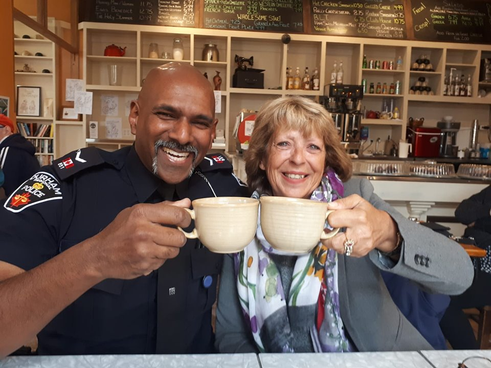 Grab 'Coffee with a Cop' tomorrow in Sunderland