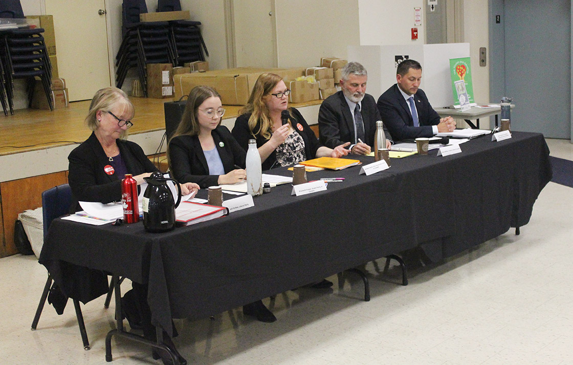 Federal election candidates square off in Cannington