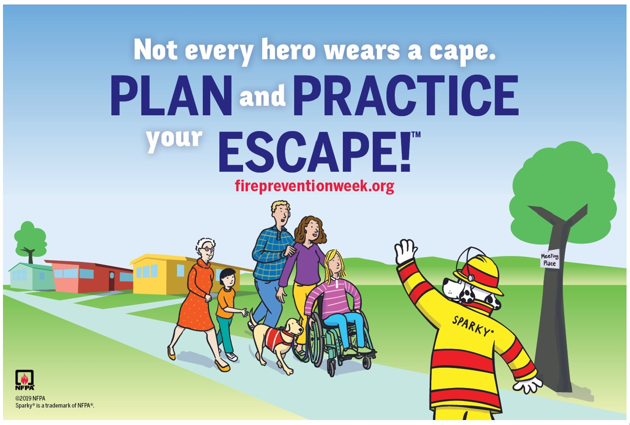 Fire Prevention Week — October 6 to 12, 2019