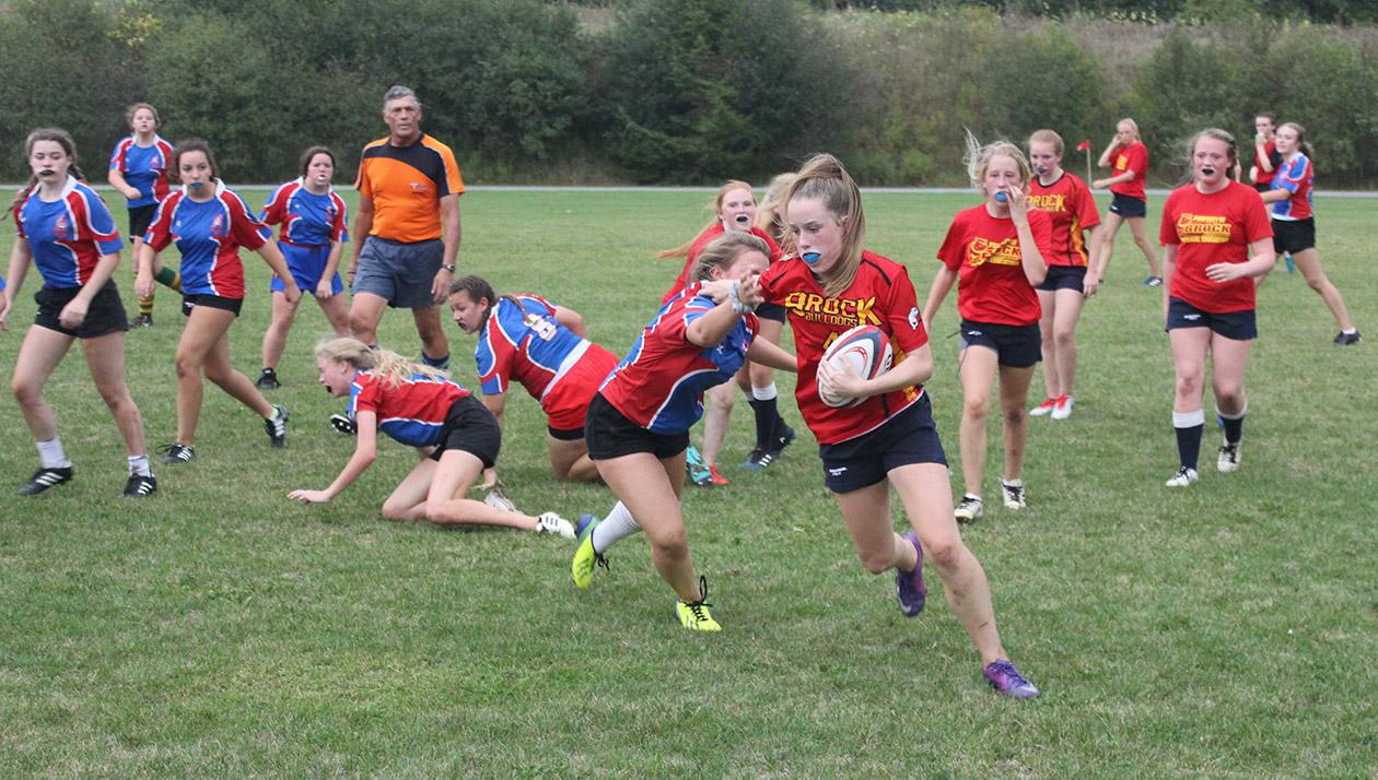 Brock High's junior girls rugby team hitting pitch for playoffs