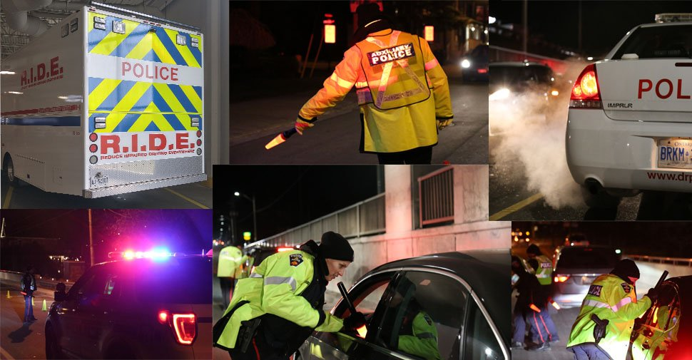 DRPS officers charged 22 people with impaired driving during third week of Festive RIDE