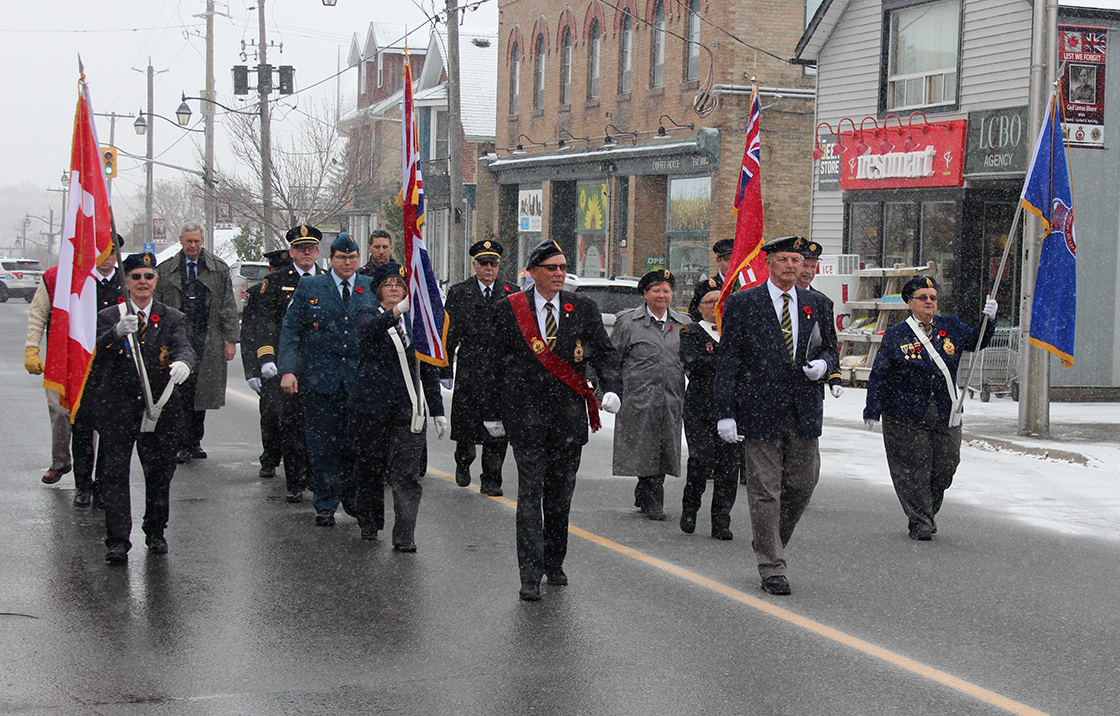 Township residents pay their respects at Remembrance Day ceremonies