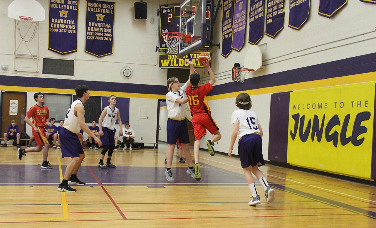 Brock High School teams hoop before the holidays