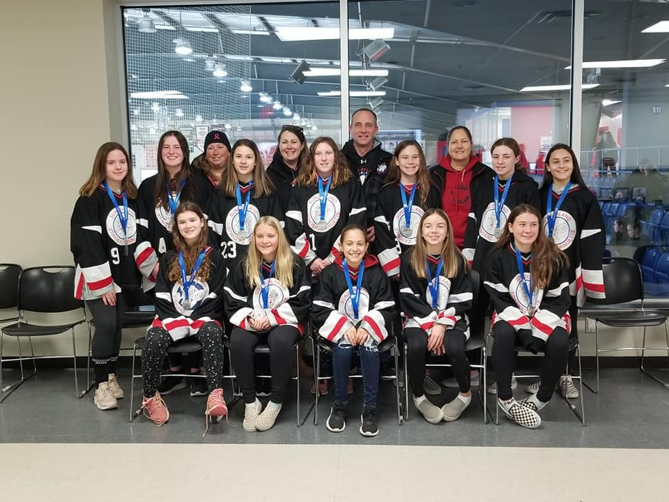 U14 Stingerz win silver medals in Whitby