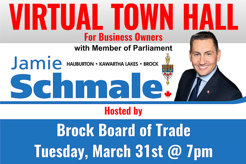 Area MP, Brock Board of Trade hosting virtual town hall session on support for businesses during pandemic