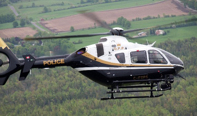 Lost hikers located by OPP helicopter