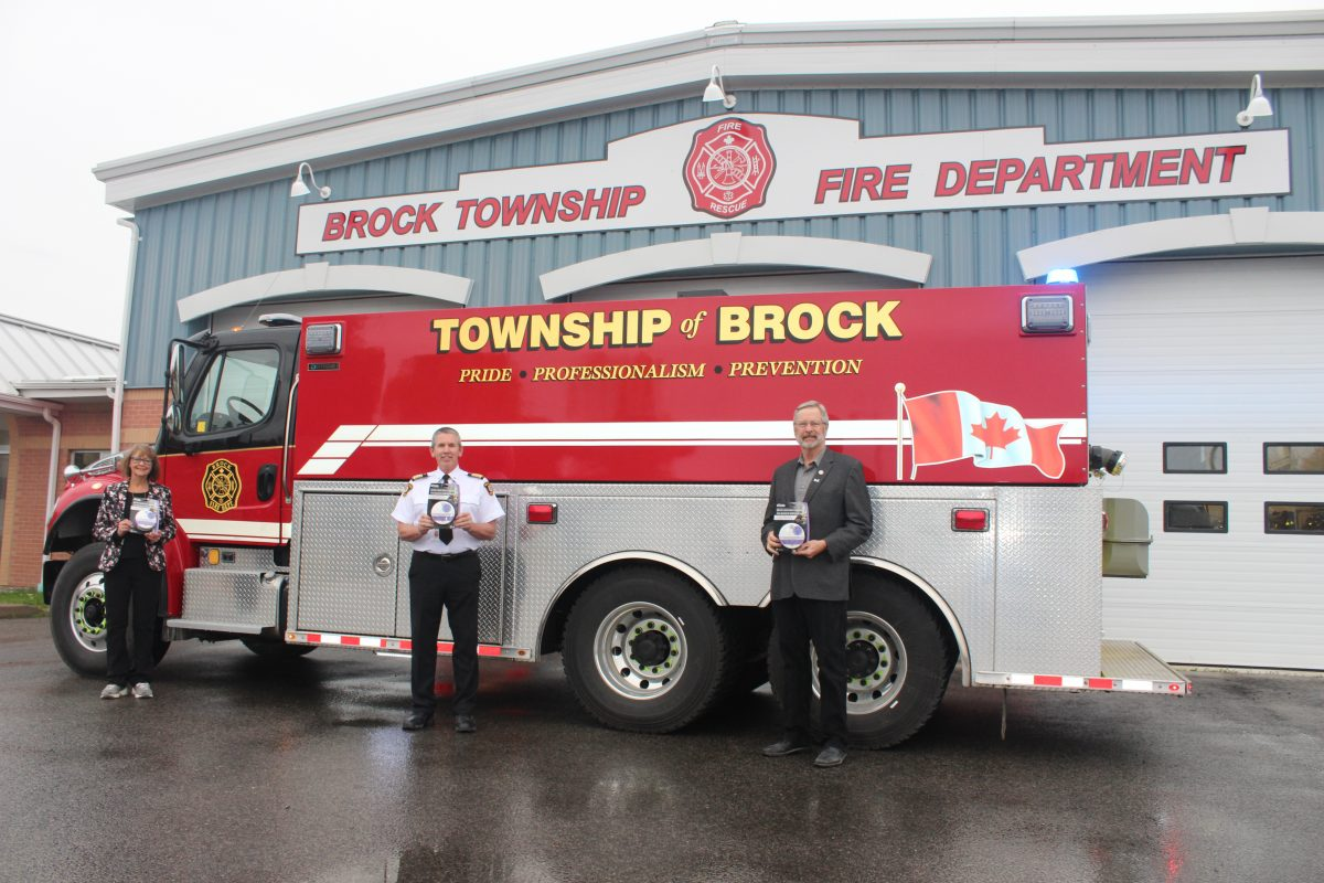 Nearly 200 smoke, carbon monoxide alarms donated to Brock Township Fire Department