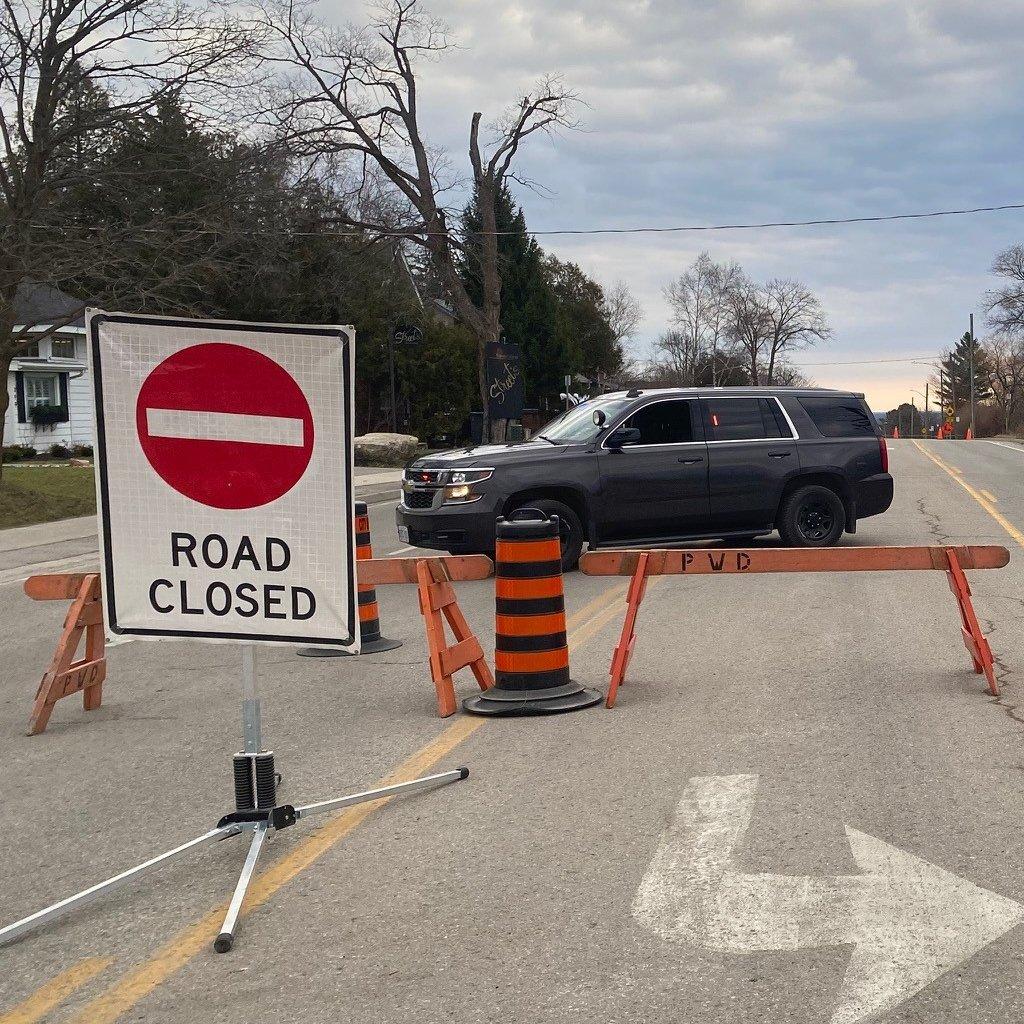 Police investigation closes stretch of road in Orillia