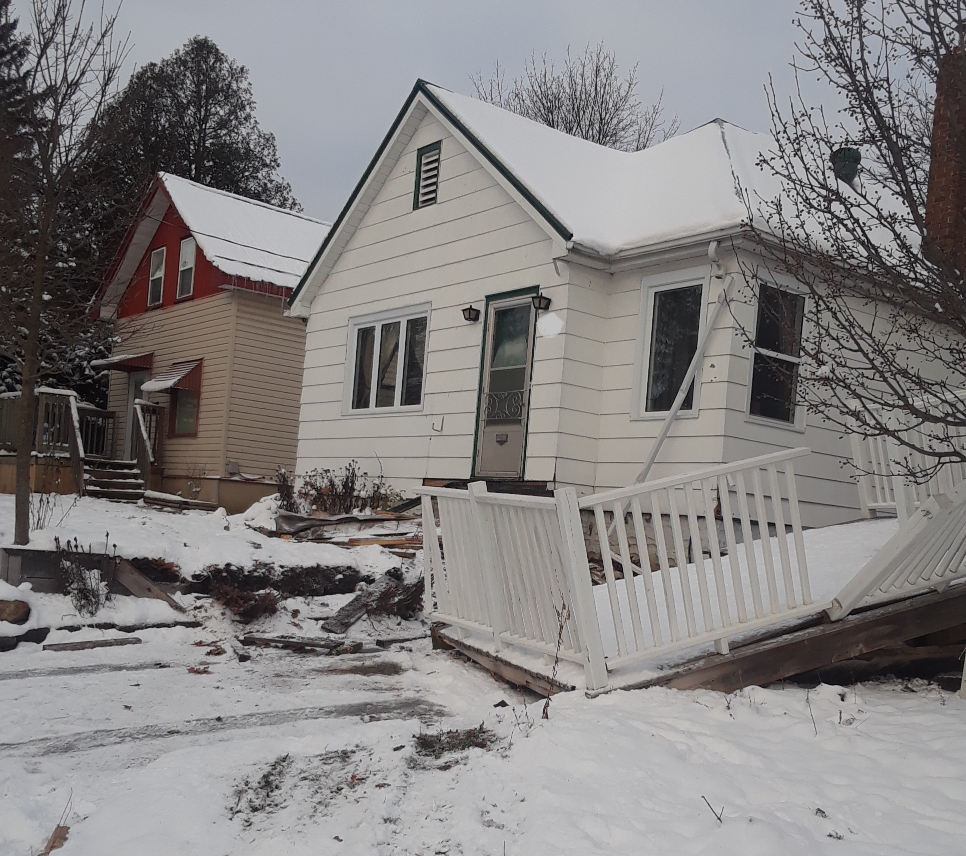 Novice driver charged after crashing into two houses in Orillia