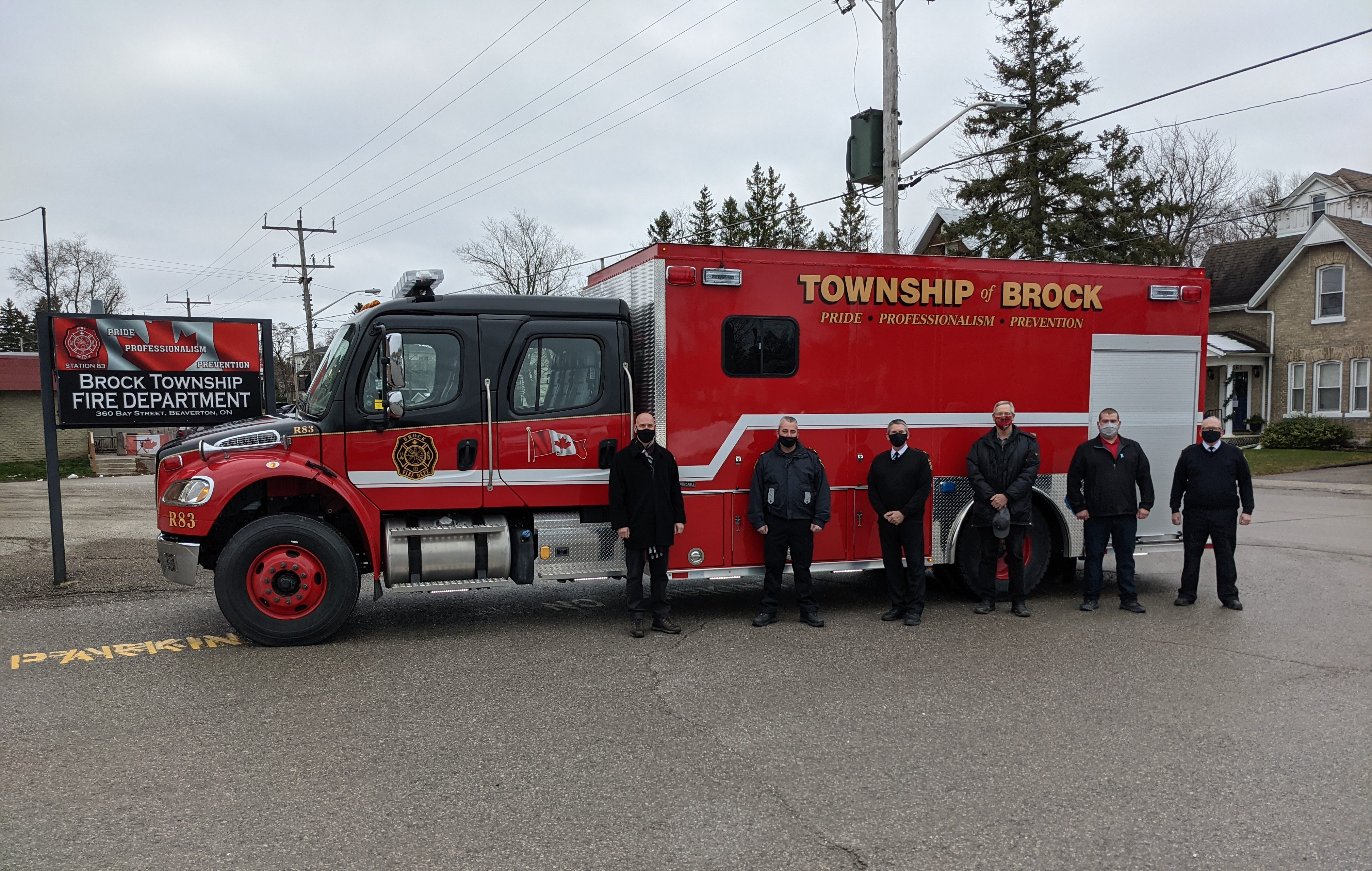 New rescue truck for Brock Township Fire Department
