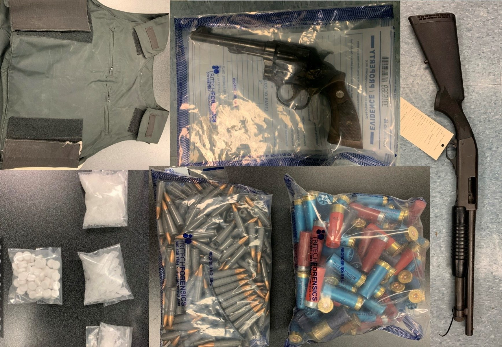 Three charged after drugs, weapons, vehicles seized by Kawartha Lakes, Durham police