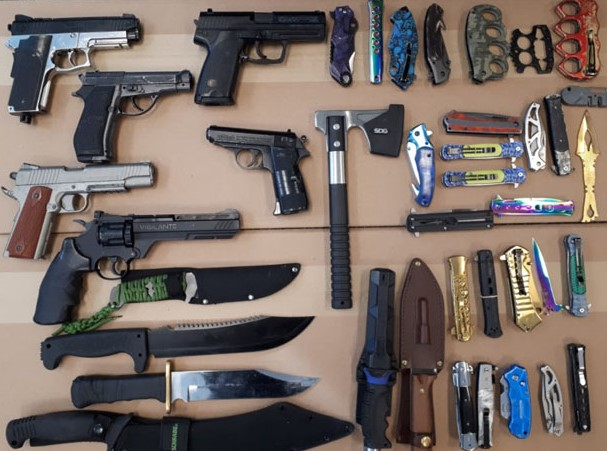 Police allegedly seize weapons and drugs after search of Oshawa home