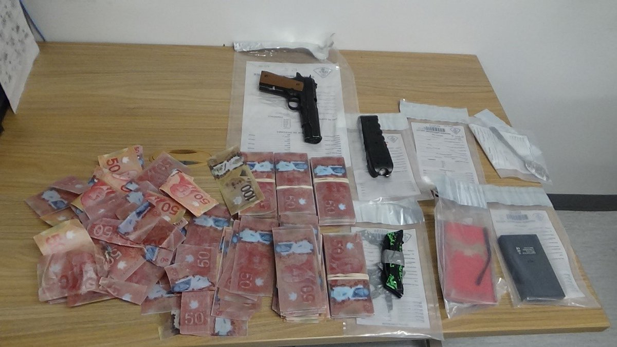 Cocaine, counterfeit cash and weapons allegedly seized by police