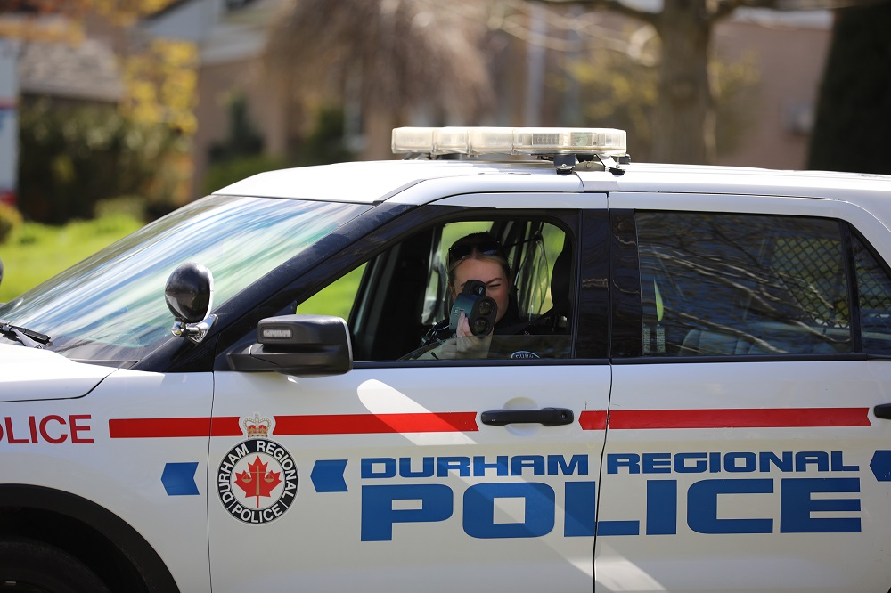 Vehicle allegedly clocked at close to 70 km over speed limit in Uxbridge