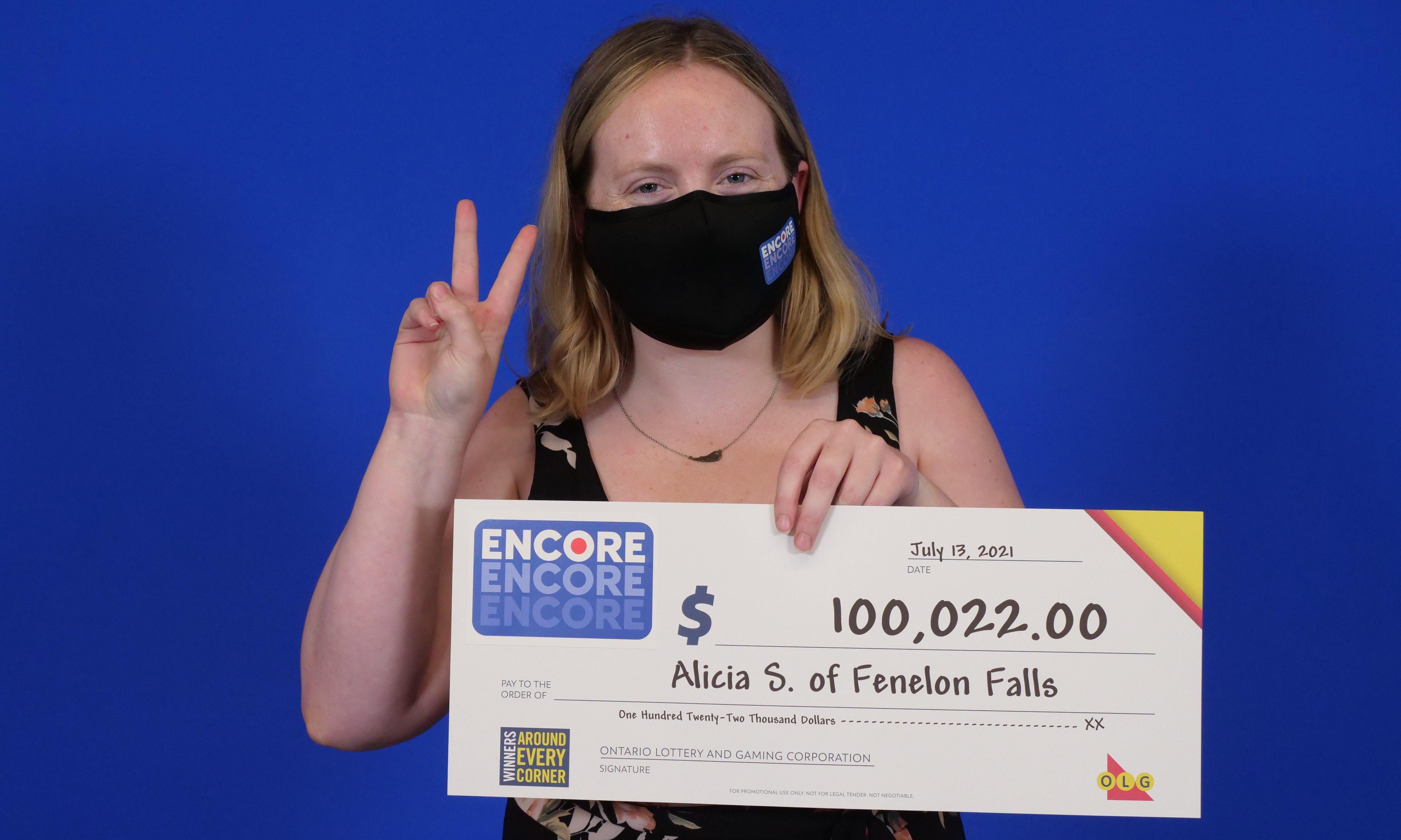 Fenelon Falls resident wins $100,000