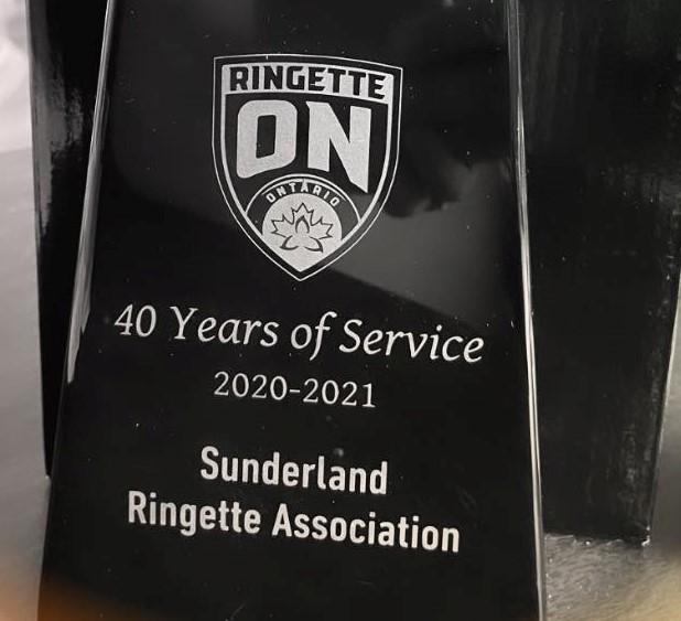Ringette Ontario marks 40 years for the Sunderland Stingerz