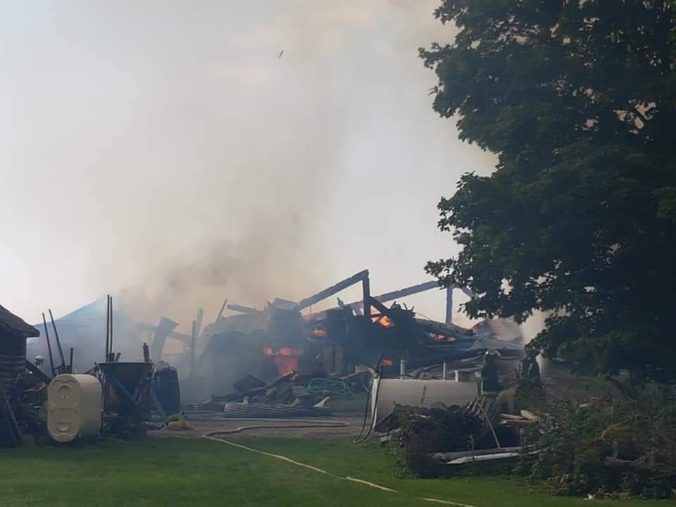 Fundraiser launched for Ramara farming family after barn fire