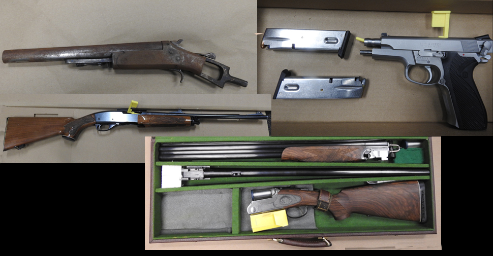 Janetville resident among those charged after firearms seized in Oshawa